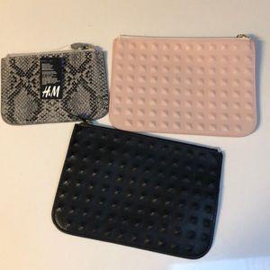 BUNDLE OF (3) NEW UNUSED H&M BAGS